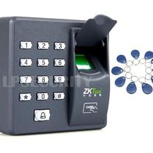 Fingerprint Recognition ID Card Reader RFID Entry Door Access Control System+10pcs keyfobs