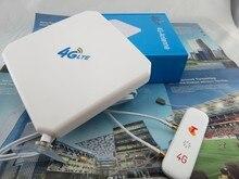 Оригинальный Huawei 3G 4 г LTE 35dbi TS9 2 м внешний Телевизионные антенны + ZTE mf823 4 г LTE FDD 800 /900/1800/2600 мГц USB Мобильный Wi-Fi модем