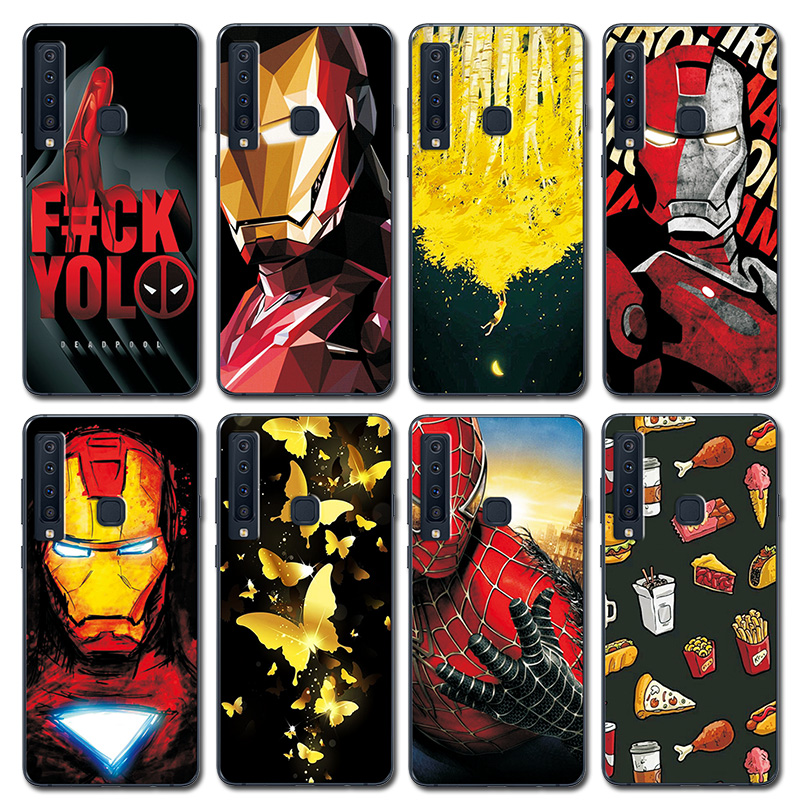 Cellphones & Telecommunications Fitted Cases Youvei Novelty Rose Painted Phone Bags For Samsung Galaxy A7 2018 Case A920 A9s Iron Man Silicone Cover Case For Samsung A9 2018 Crease-Resistance