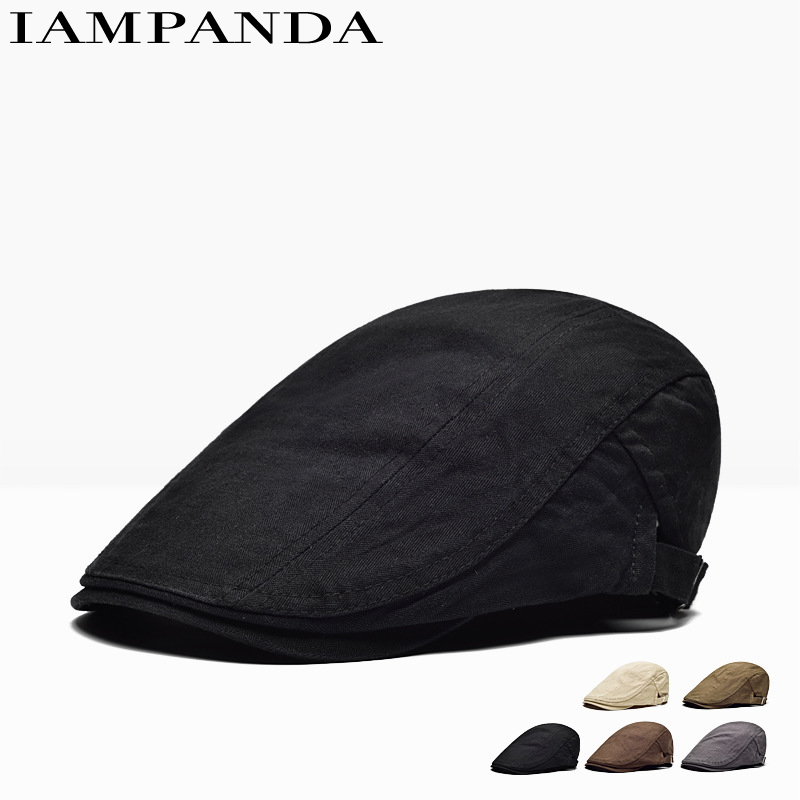 2017 Promotion 6 New Pattern Han Banchao Hat For Peaked Cap Leisure Time Forward Solid Color Ventilation Beret You Customize skullies beanies mink mink wool hat hat lady warm winter knight peaked cap cap peaked cap