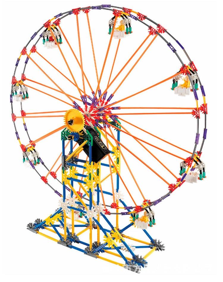 LOZ P0006 Ferris wheel Model Rotatable Electric Building Block Sets Bricks Blocks Toys scale models DIY Enlighten brinquedos loz diamond building blocks fantastic playground series ferris wheel devil pirate ship dandelion tengyun 3d children bricks toys