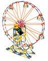P0006 LOZ Ferris Wheel Modelo Rotativo Elétrico modelos em escala Brinquedos DIY Iluminai Building Block Define Tijolos Blocos brinquedos