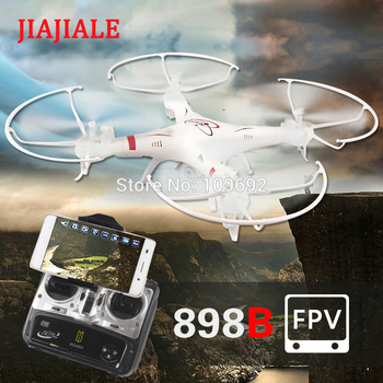 JIAJIALE HQ898B Aerial Drone huanqi RC Drones 2MP HD CAM WIFI FPV Real-time 6-axis 2.4G Quadcopter Headless VS H11D X6SW H12C