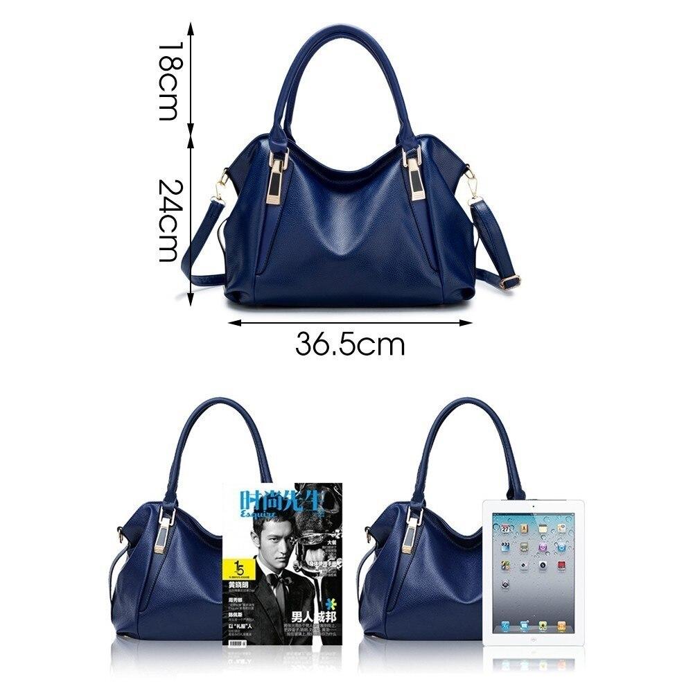 ecb760157 JINQIAOER nuevo impermeable mujeres doble bolsa de hombro bolsa de  diseñador de bolsos de mano de