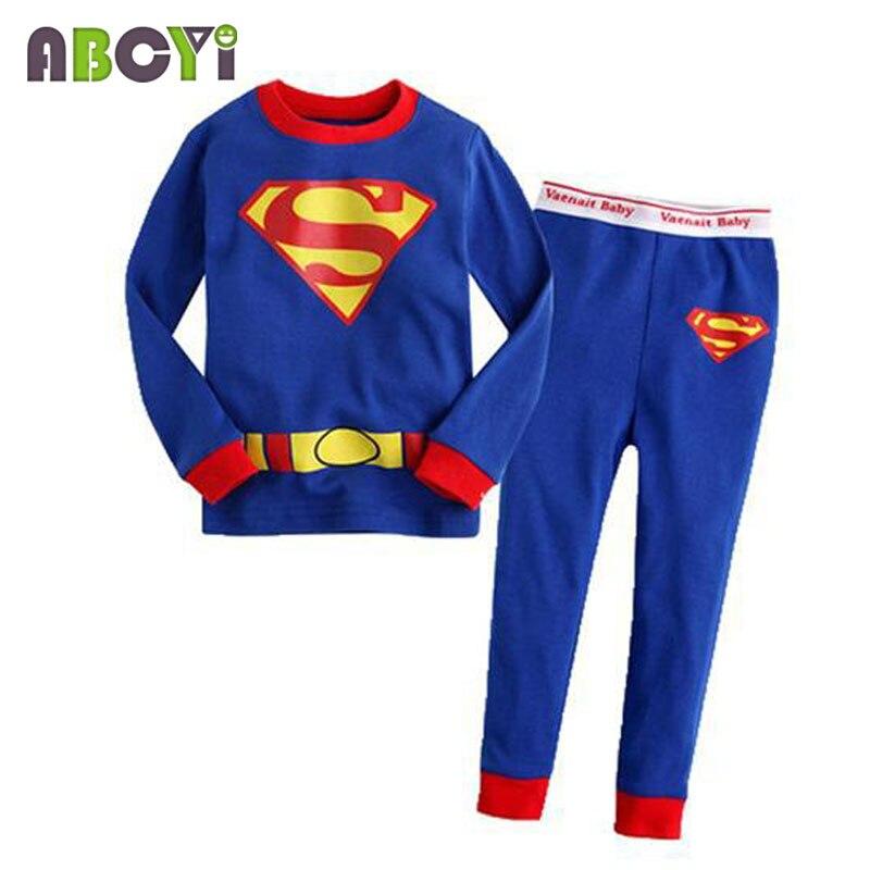 children's pajamas Long Sleeve Clothes Kids Pajamas Baby Clothing Sets for Boys pijama Girls pyjamas Cartoon Sleepwear 3
