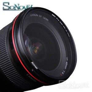 Image 5 - ZOMEI 40.5mm/49mm/52mm/55mm/58mm/62mm/67mm/72mm/77mm/82mm/86mm UV Ultra filtr fioletowy osłona obiektywu do aparatu nikon canon Sony