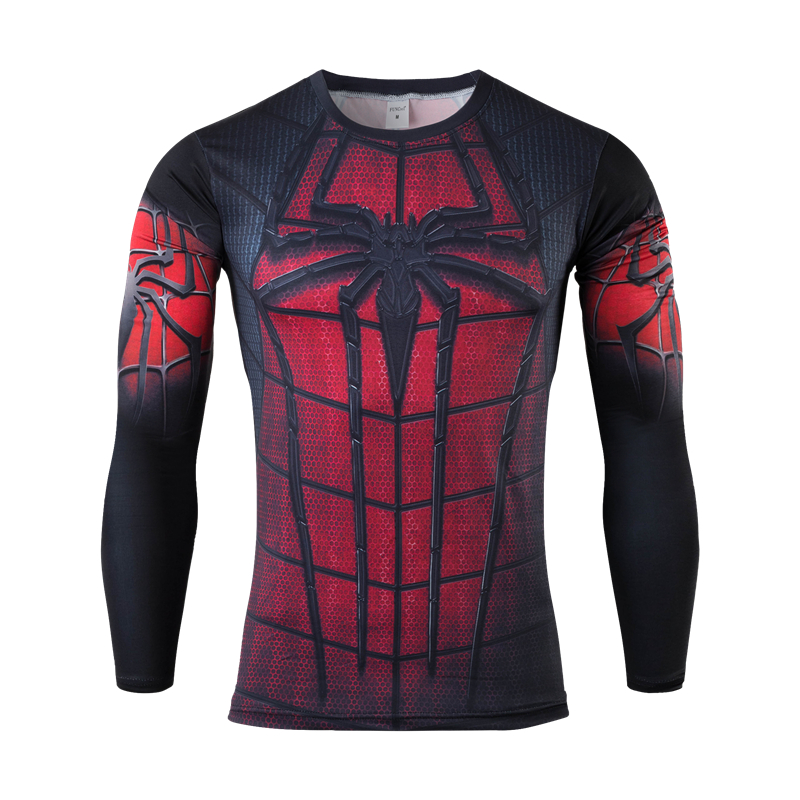 MEW Männer bodys armour marvel captain america/superman/batman/punisher compression t shirt männer thermische...