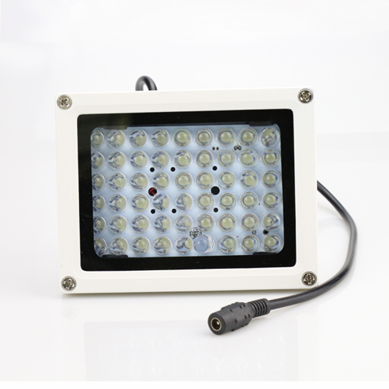 Metal Case Outdoor Waterproof Surveillance 30 Degree 54pcs Infrared Leds IR Fill Night Vision illuminator Lamp Free Shipping free shipping outdoor waterproof metal case100