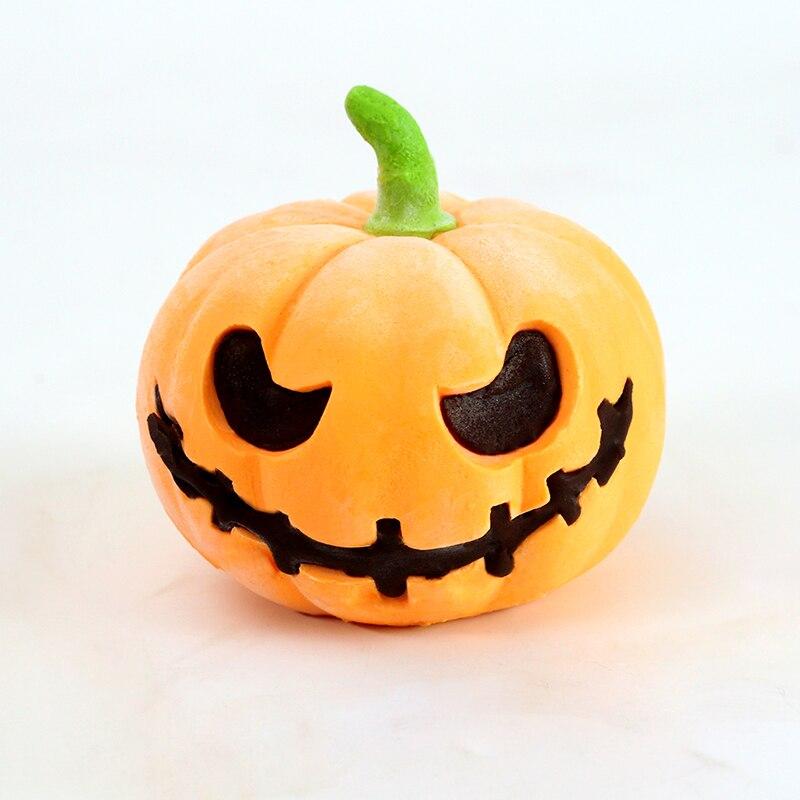 Jack-o-lanterne Silicone Gâteau Mousse Moule Halloween Citrouille Artisanat À La Main Savon Bougie Moule