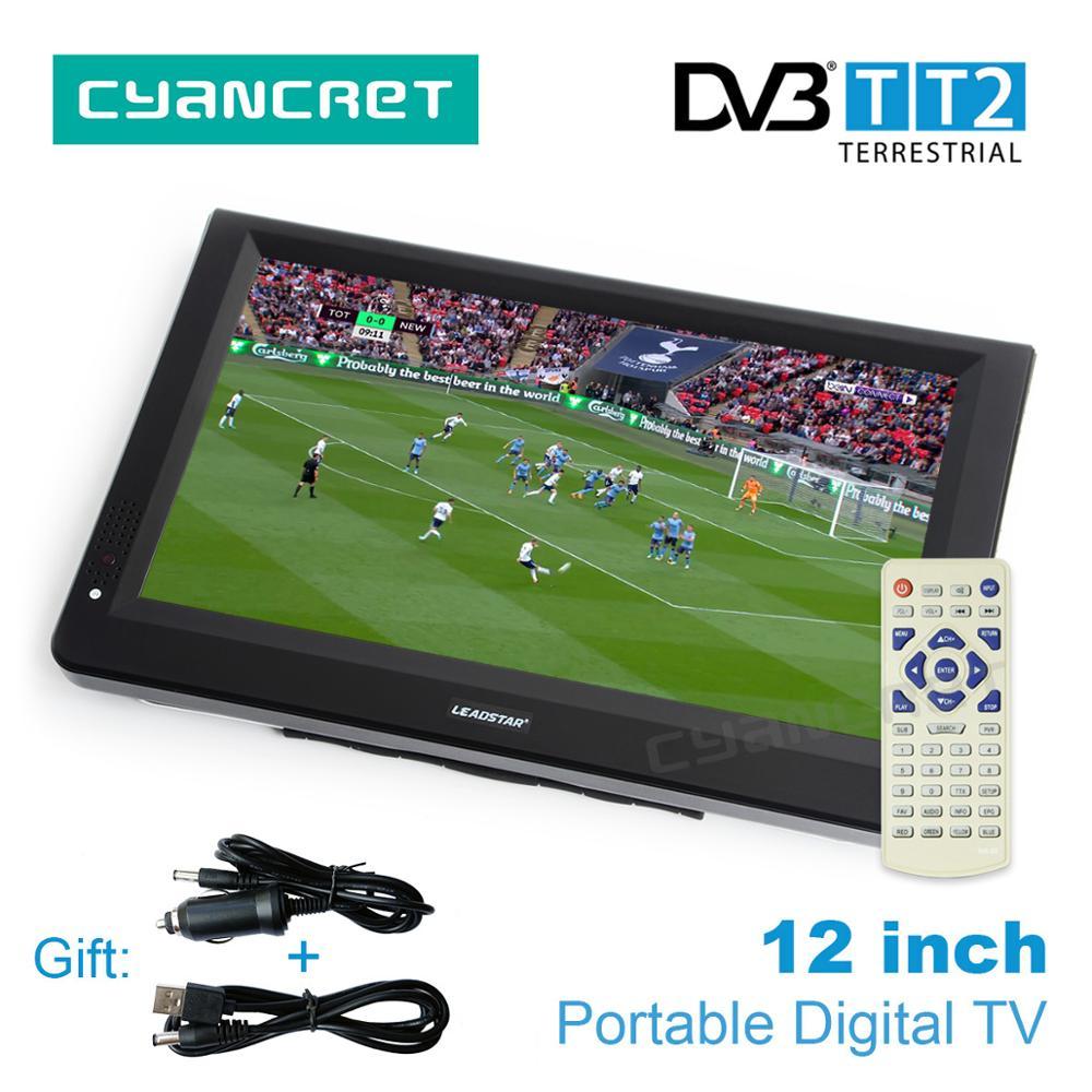 LEADSTAR 12 inch HD Portable TV DVB-T2 Ds