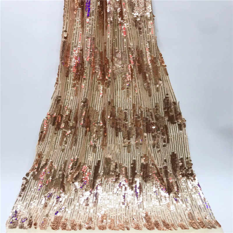 High quality Amazing sequins wedding lace new design latest fashion tulle lace african lace fabric for Wedding Dresses jy1-692