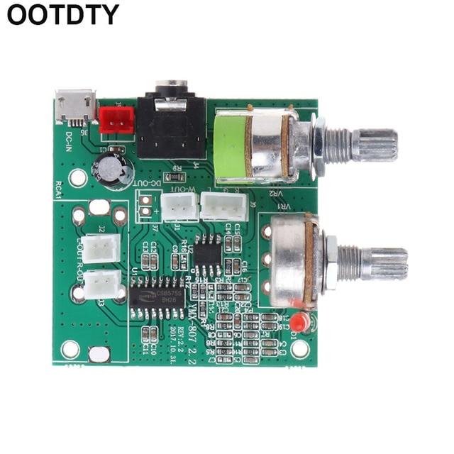 5V 20W 2.1 Kênh Đôi 3D Vòm Kỹ Thuật Số Âm Thanh Stereo Amplifier Class D AMP Board M35