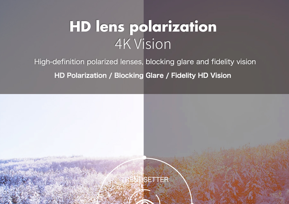 Queshark polarizado esportes óculos de sol para