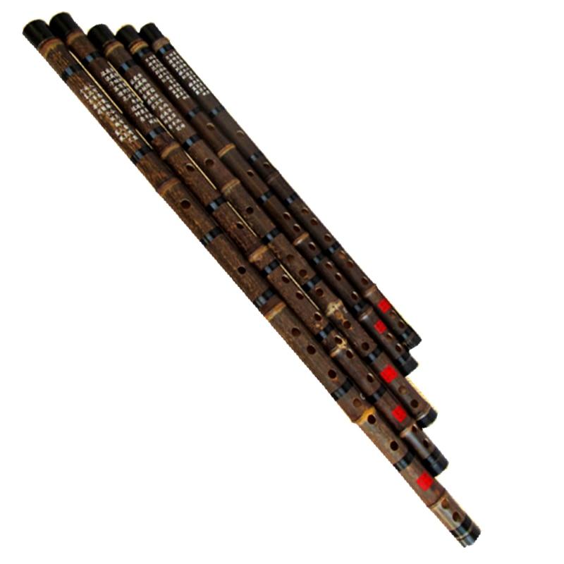 Kínai Bambusz Fuvola Zene CDEFG kulcs Fuvola Flauta Bambu egy rész Flauta hangszer Kína Kézzel készített kínai Bambusz fuvola zene