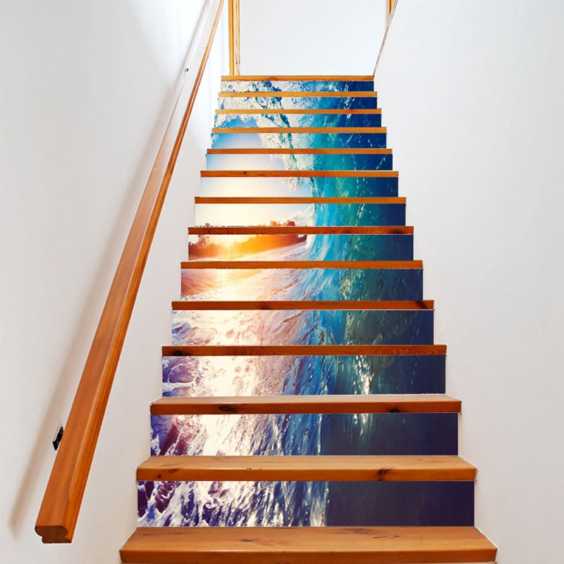 Creative Diy Tips For Decorating Your Stairs: Creative DIY 3D Stairway Stickers Stairs 3d Vinyl