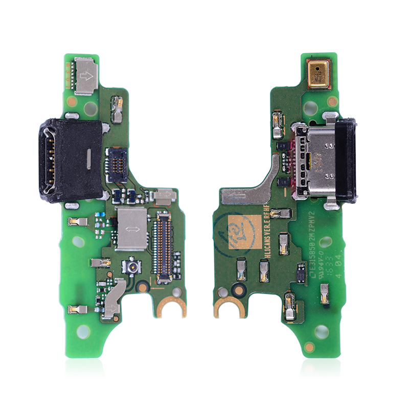 Original USB Charging Flex Cable For HUAWEI Nova USB Charger Dock Port With Microphone Mic CAN-L01 CAN-L02 CAN-L03