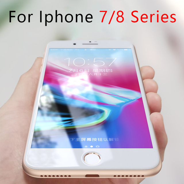 Protective Glass On The For Iphone 7 8 Plus 7plus 8plus Tempered Glas For Apple Iphone7 Iphone8 I Phone Iphon Screen Protection