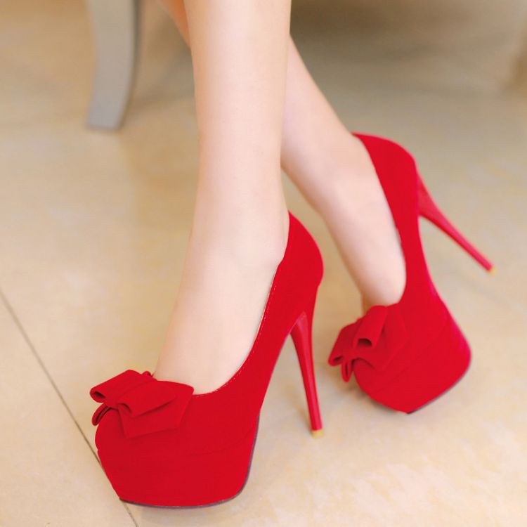 Stunning Red High Heels For Wedding Contemporary - Styles & Ideas ...