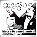 Miser's Dream Granted (DVD+Gimmick) - Trick,magic tricks,illusion,coin magic,props,accessories,magic gimmick,comedy