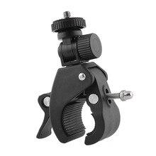 Bicycle Bike Handlebar Mount Clip Holder 1 4 Screw Tripod Clamp Bracket Sport Camera Holder For