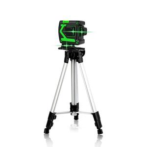 Image 5 - 12 ライン 3Dレーザーレベルワイヤレスリモート自己レベリング 360 水平 & 垂直クロスライングリーンレーザーバッテリー & 三脚