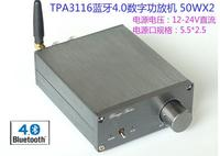 Cool BL10B New Bluetooth 4 Desktop 50WX2 Digital Amplifier TPA3116 Hi Fi Amplifier