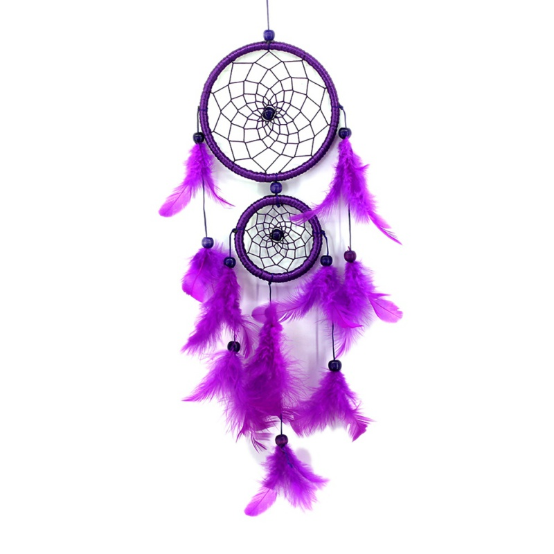 Traditional Style Dreamcatcher Wall Hanging Decoration Ornament Gifts 5 Colors Dream Catcher