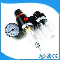 AFC2000 G1 4 Air Filter Regulator Combination Lubricator FRL Two Union Treatment AFR2000 AL2000