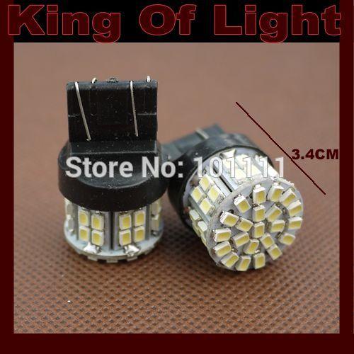 10x High quality led Car styling lighting T20 W21/5W 50smd 7443 50 LEDS SMD 3020 1206 brake parking lignt Free shipping