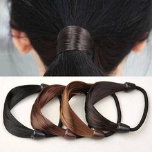 Rubber Band Fashion Elastic Bands Solid Color For Girls Women Multicolor Hot Sale Ponytail Holder Rubber Hair