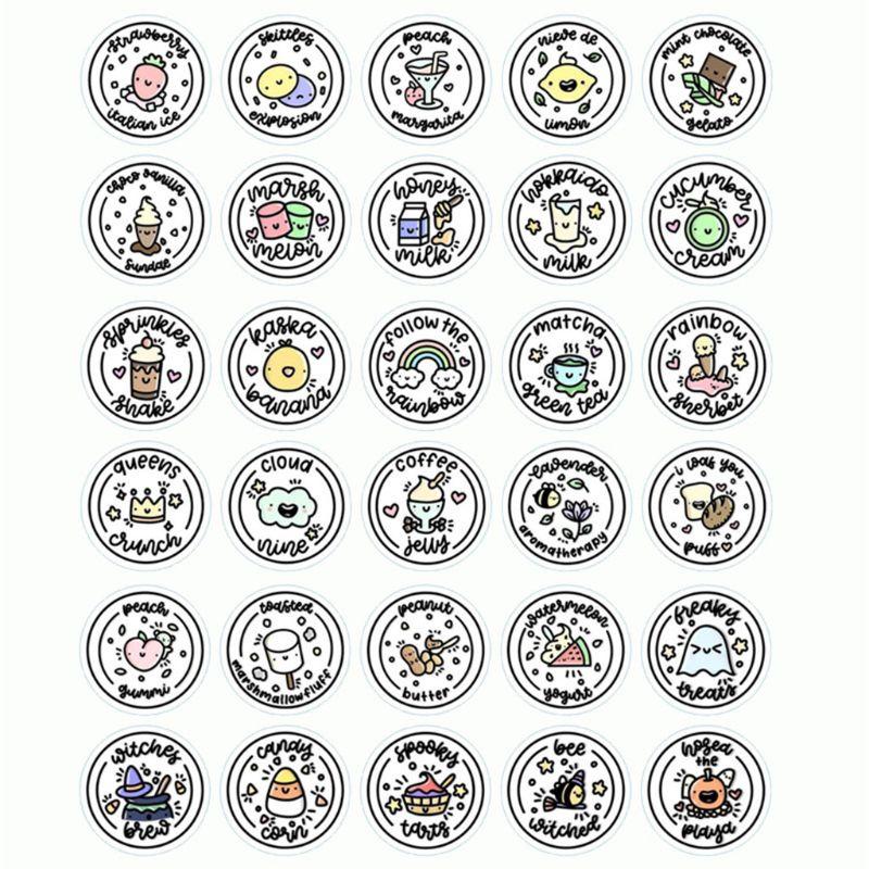 Impermeabile Rotonda Slime Sticker Contenitori Adesivo Scatola di Immagazzinaggio Autoadesivo Slime Forniture Accessori FAI DA TE Decorazione Della BottigliaImpermeabile Rotonda Slime Sticker Contenitori Adesivo Scatola di Immagazzinaggio Autoadesivo Slime Forniture Accessori FAI DA TE Decorazione Della Bottiglia