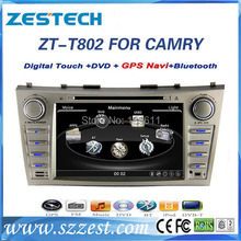 ZESTECH high performance Car dvd gps player for Toyota CAMRY 2007-2011Car dvd gps player with TV, Radio,gps navigation system