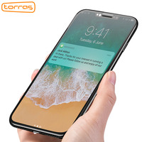 Torras 3D Ultrathin Screen Protector Tempered Film For IPhone X Full Cover Protective Glass Film For