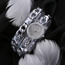 HMMWV Brand Women Bracelet Watch Silver Gold Diamond Hour Ladies Casual Steel Rhinestone Bracelet Wrist Watch Relogio Feminino