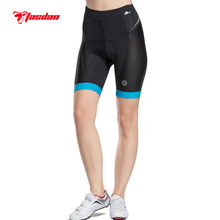 Tasdan Womens Cycling Padded Shorts Bike Underwear / Chamois Breathable Quick Dry Reflective Strips