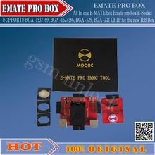 Hot! All In  one   E-MATE box Emate pro box E-Socket SUPPORTS  BGA -153/169, BGA -162/186, BGA -529, BGA -221 CHIP for Riff  Box