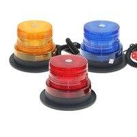 Luz de led estroboscópica para teto de carro  vermelho  amarelo e azul  farol de aviso  luz de emergência para caminhão  veículo  polícia  12v/24v v