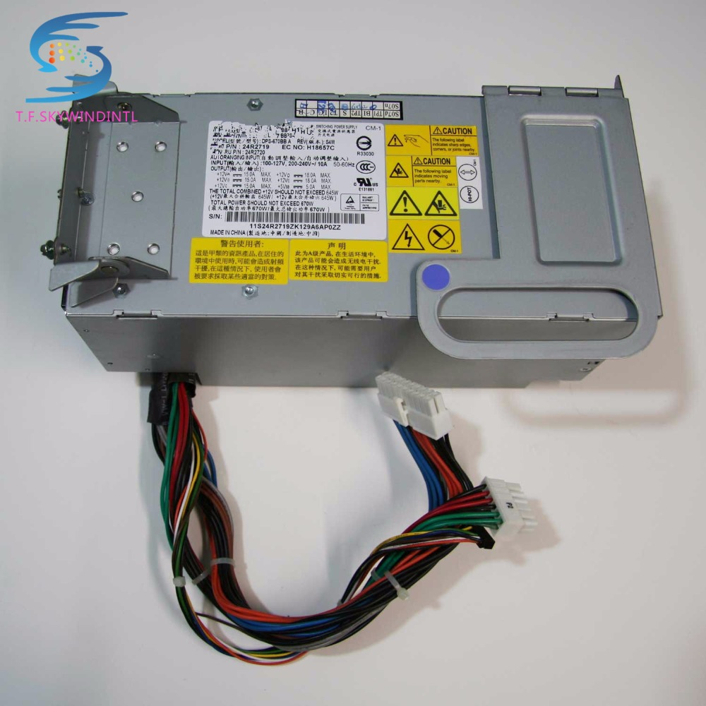 free ship  DPS-670BB A 24R2719 24R2720 670W power supply for X3400 X3500 psu power supply