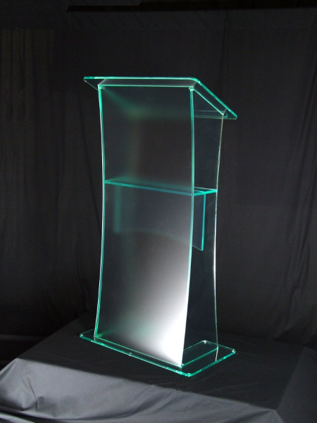 Free Shipping Beautiful Simplicity Cheap Acrylic Podium Pulpit Lectern