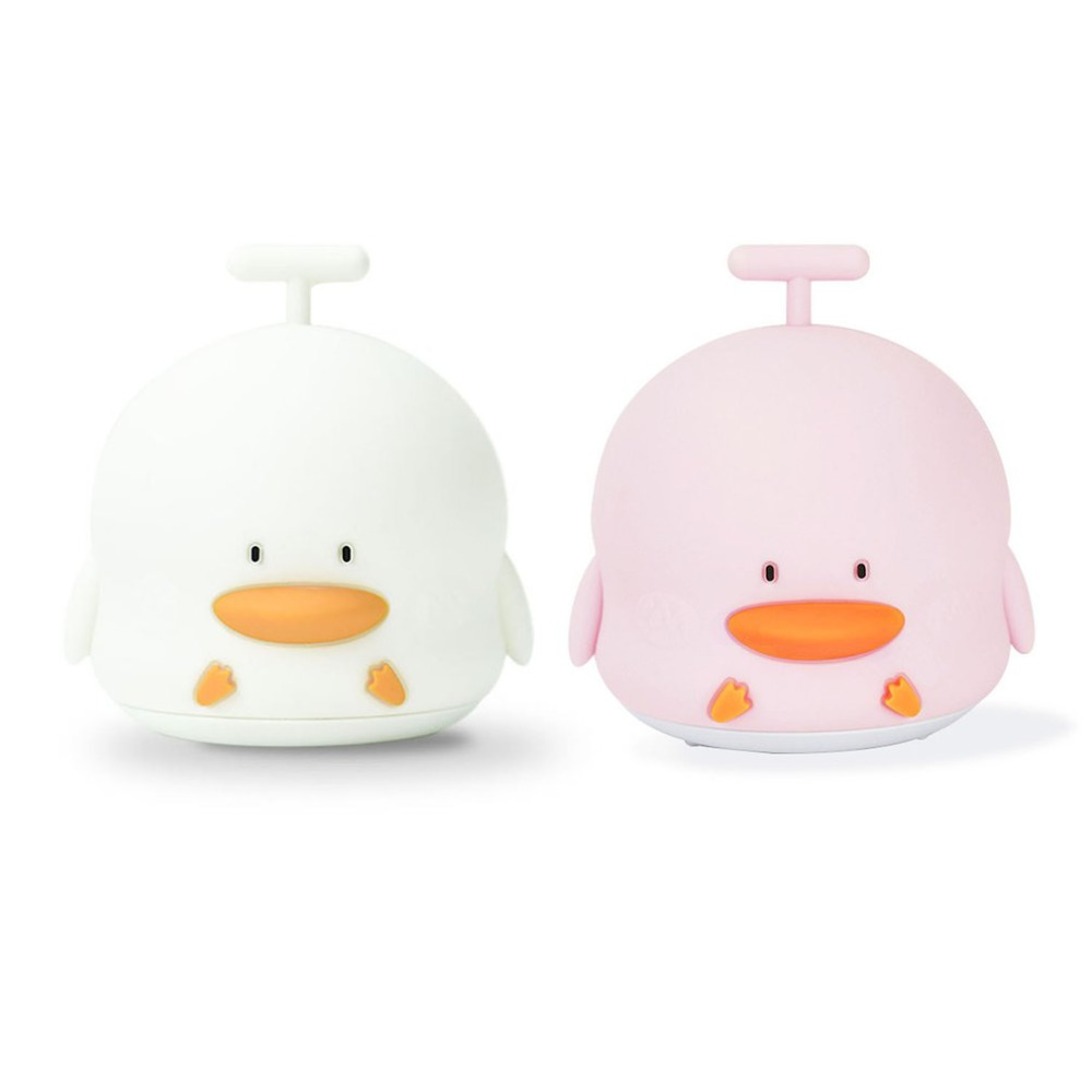 Little Duck Rechargeable Light With Sound Seven Colors Soft Light Anti-slip Home Bedroom Decoration Nice Gifts