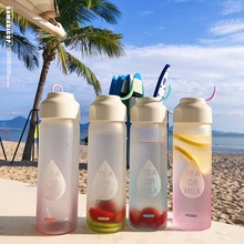 Hotsale High quality Sport Water Bottle Gradient color for Outdoor Home Camping Tour Drinkware