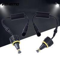 2PCS DC 12V Car LED Angel Eye Marker Light Headlight For BMW E92 Accessories 40W