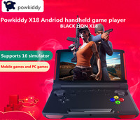Powkiddy X18 Andriod Handheld Game Console - 5.5 INCH / 1280*720 Screen - MTK8163 Quad Core / 2G RAM / 16G 2