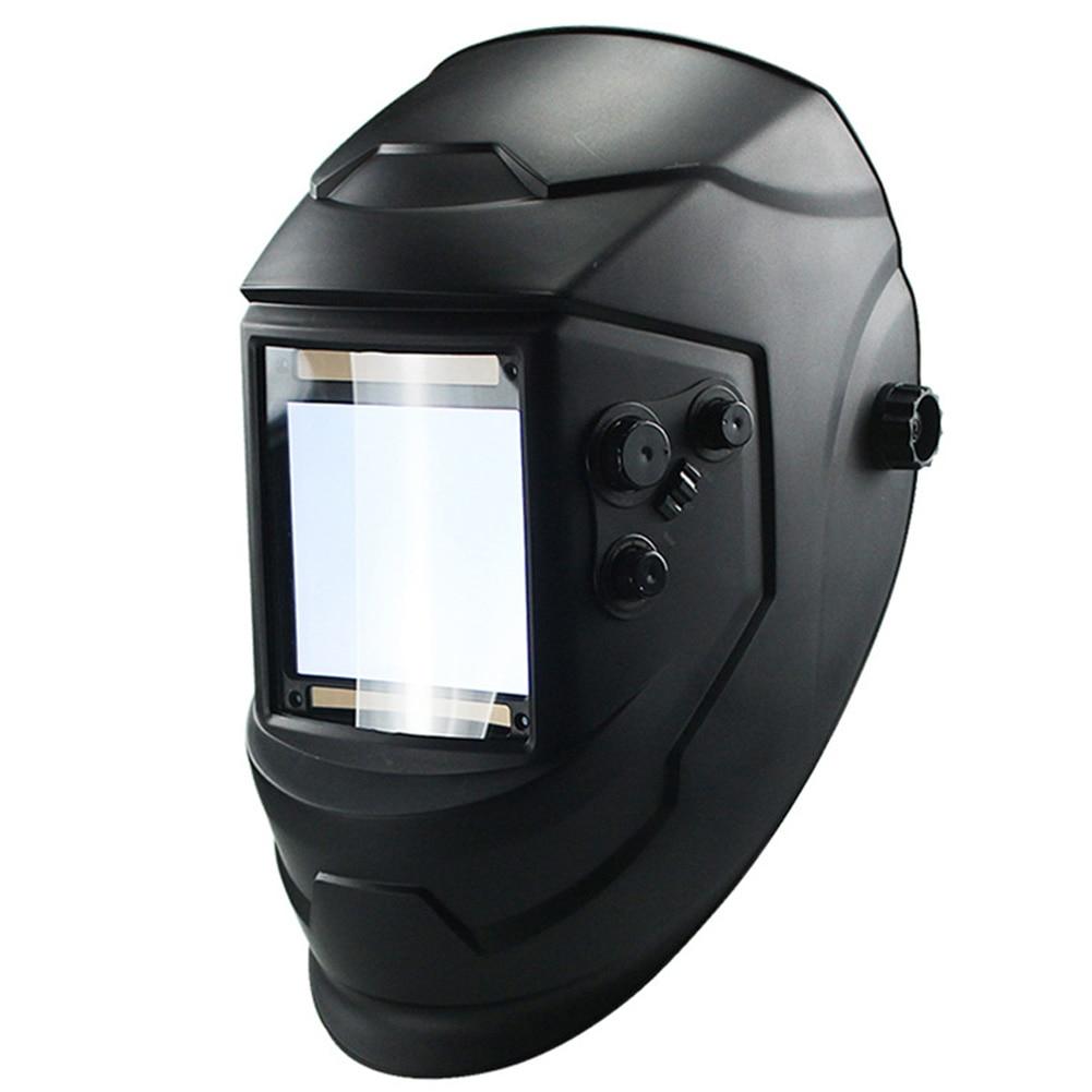 4 Arc Welding Lens Solar Helmet Lens Auto Darkening TIG MIG Protecter Grinding Big View Welding