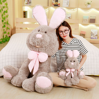 70/80/90cm Stuffed rabbit Toys long eared rabbit Soft Toy Stuffed animals Toys large plush toy doll birthday gift for girls 1pc