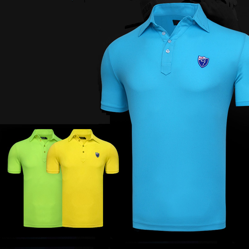 870eacca 2018 new men golf shirts summer golf training garment sports clothing short  sleeve polo shirts outdoor golf wear brand tops-in Golf Shirts from Sports  ...