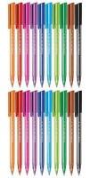 20 ручек Staedler цветная шариковая ручка Средний наконечник 10 разных цветов 2 упаковки каждого цвета 2 ручки