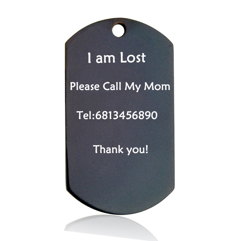 Pet Tag Personalized Nama Dog Cat Tag Stainless Steel Gratis Terukir - Produk hewan peliharaan - Foto 4