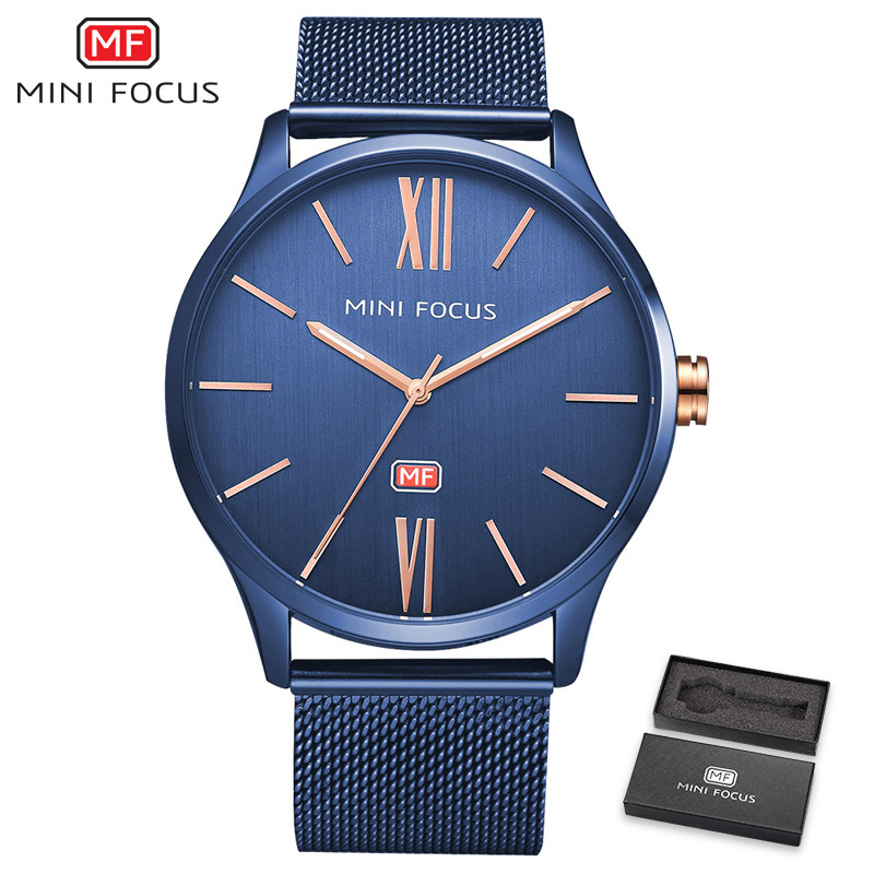 MINIFOCUS Top Brand Luxury Quartz Watch Men Ultra Thin Mesh Strap Marine Dial Calendar Roman Numbers Fashion Minimalist Watches mg6310 mg6320 mg6350 mg6380 mg7120 original qy6 0083 printhead print head for canon mg7150 mg7180 ip8720 ip8750 ip8780 7110