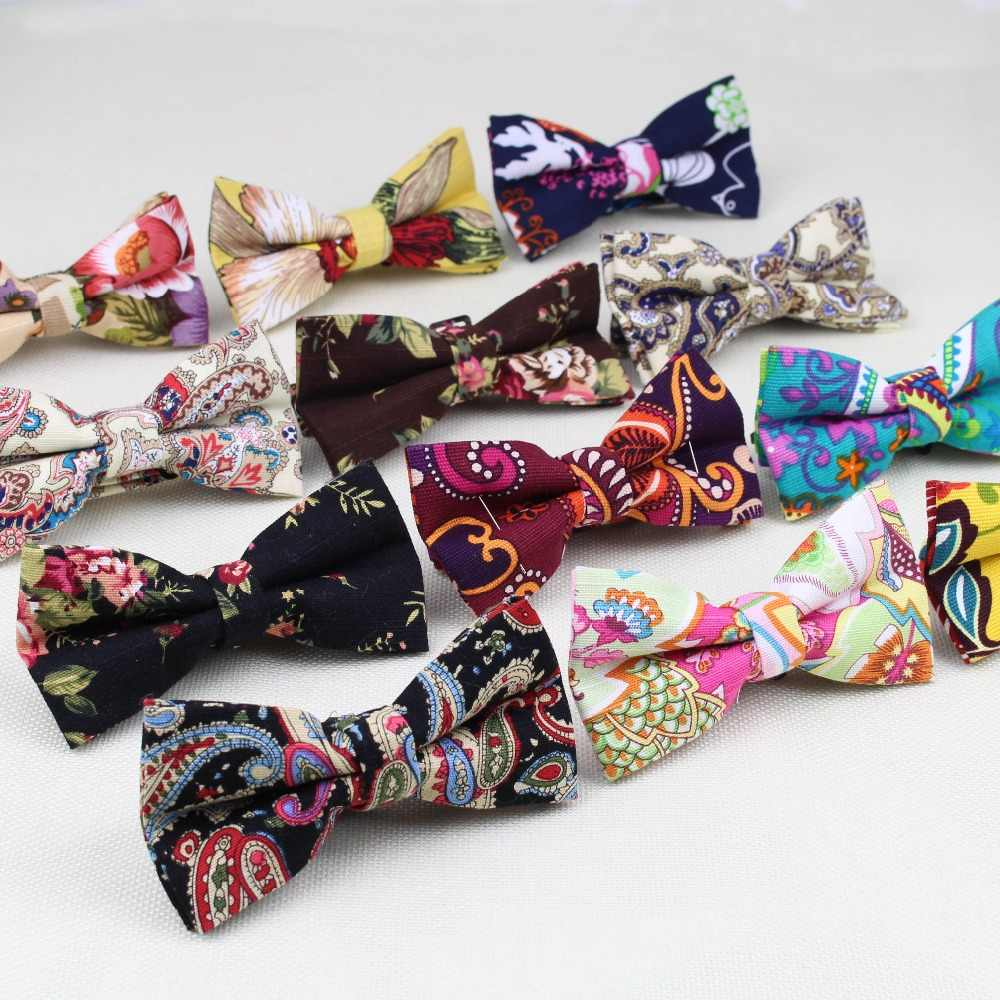 101719409dc0 Detail Feedback Questions about Mens Linen Printed Formal Fashion Bow Ties  Man Cashew Nut Flower Apple Rose Solid Neck Bowtie Bowknot Gravatas Necktie  ...